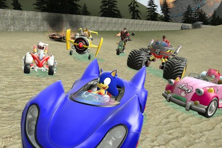 Sonic and SEGA All-Stars Racing Cars