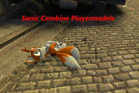 Sonic Combine Playermodels