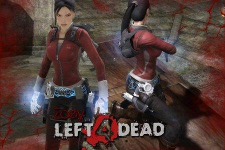 Tomb Raider L4D Zoey Skin