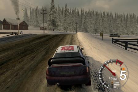 Скриншоты игры Colin McRae Rally 04