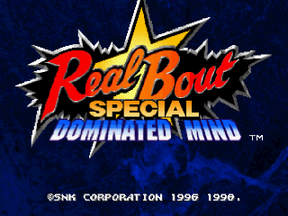 Обзор игры Real Bout Fatal Fury Special: Dominated Mind