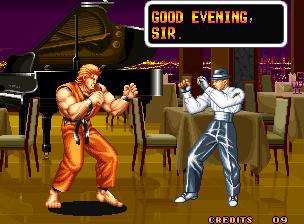 Обзор игры Art of Fighting