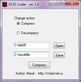 KOEI Coder v1.00