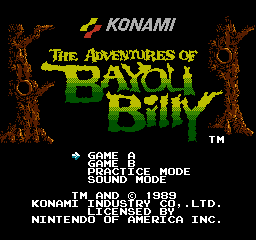 Обзор игры Adventures of Bayou Billy, The