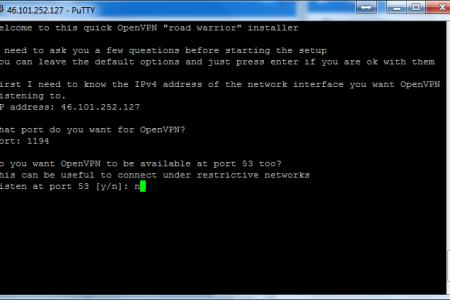 Установка OpenVPN на Debian 7