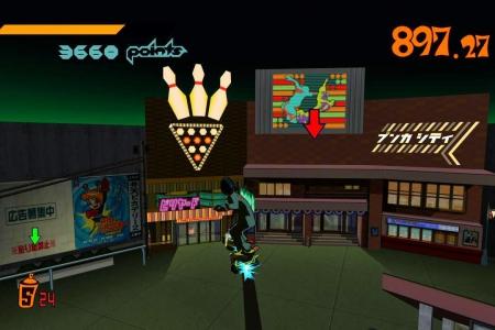 Обзор игры Jet Set Radio