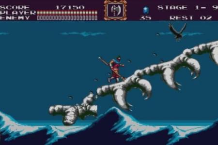 Обзор игры Castlevania: Bloodlines