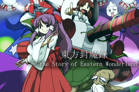 Обзор игры Touhou Fumaroku ~ the Story of Eastern Wonderland