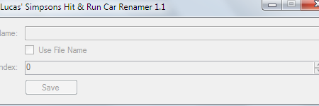Lucas Simpsons Hit & Run Car Renamer v1.1