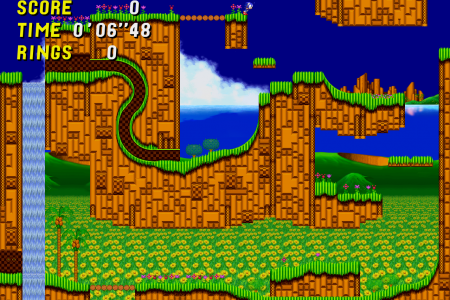 Sonic the Hedgehog 2 HD (First Tech Demo Release)