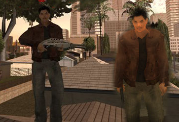 John Woo Player Skin from Strangehold to GTA SA