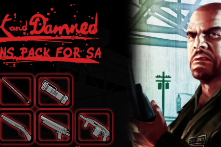Оружие из The Lost and Damned для GTASA