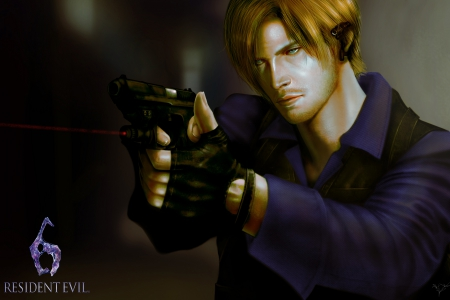 Leon Scott Kennedy from RE4