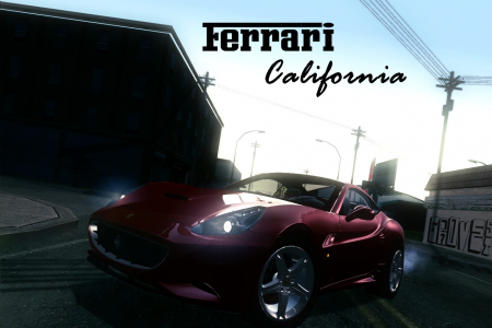 GTA SA - Ferrari California