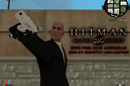 Hitman Blood Money HUD for SA v1.5