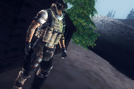 Army Of Two Skins V1