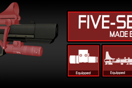 Five-Seven (5-7 Splinter Cell Pistol)