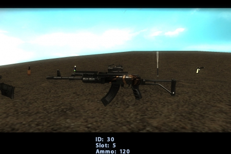 CLEO 3D weapons inventory UPD