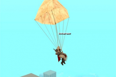 Parachute from Assassin's Creed v1.0