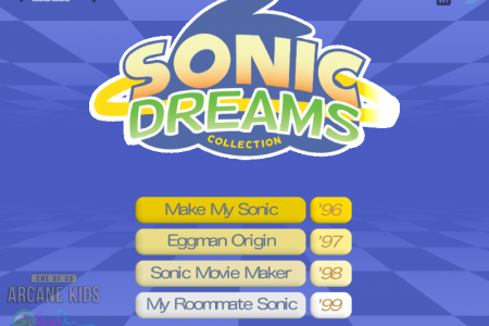 Sonic Dreams Collection (Sonic Movie Maker)