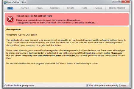 Fusion's Chao Editor