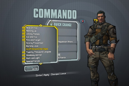 Облик Экстона, класс Спецназовец