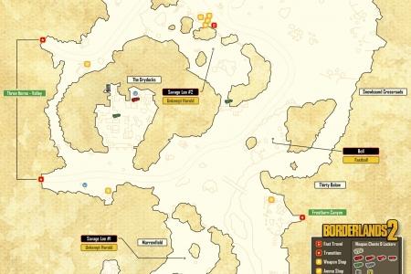 Карты Borderlands 2