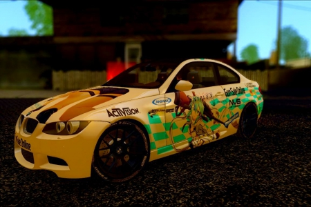 BMW M3 E92 - Sword Art Online II (Sinon) для GTA SA