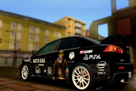 Mitsubishi Lancer Evo X Stock - Watch Dogs для GTA SA
