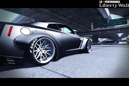 Nissan GT-R R35 v1.1 для GTA 5