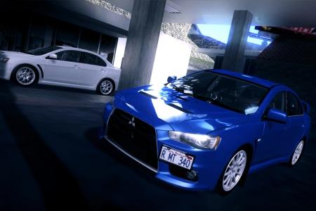2008 Mitsubishi Lancer Evolution X Tunable для GTA SA