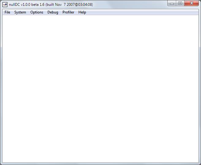 nullDC 1.0.0 Public Beta 1